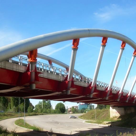 """Viadotto ad arco """"De Gasperi"""""""