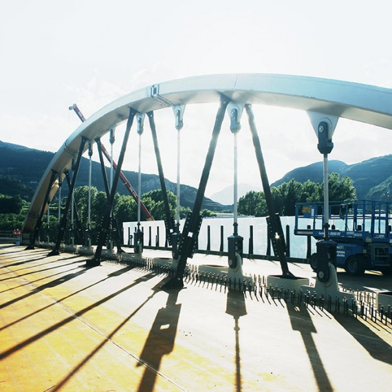 Ponte ad arco Rovereto (TN)