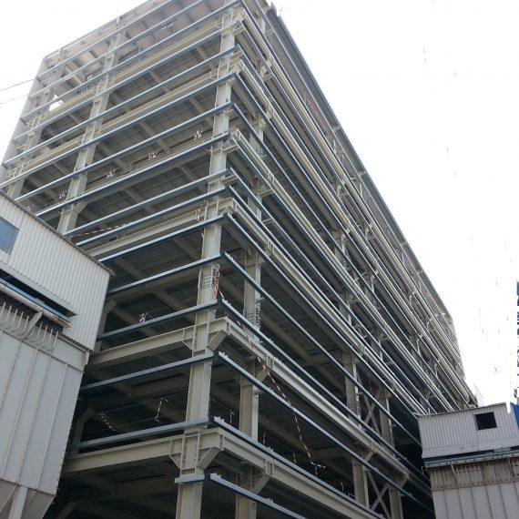 Costruzione nuova torre tecnologica