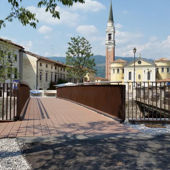 Passerella ciclopedonale - Cordignano