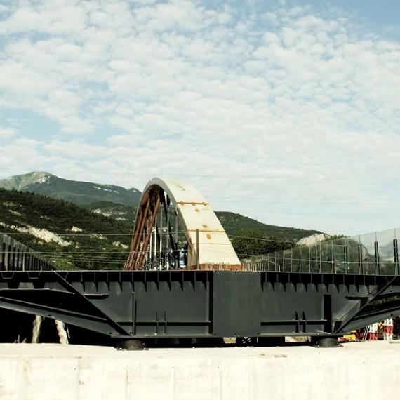 Ponte ad arco Rovereto (TN) (2)