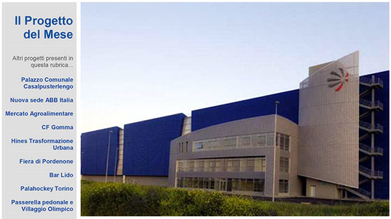 The new Industrial plant of  ALENIA AERONAUTICA – Grottaglie (TA)