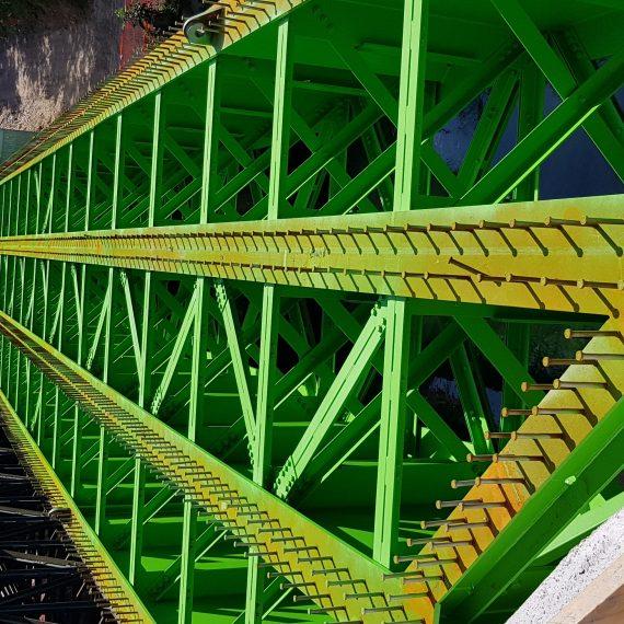 Ponte metallico ferroviarioPonte metallico ferroviario sul naviglio Langosco