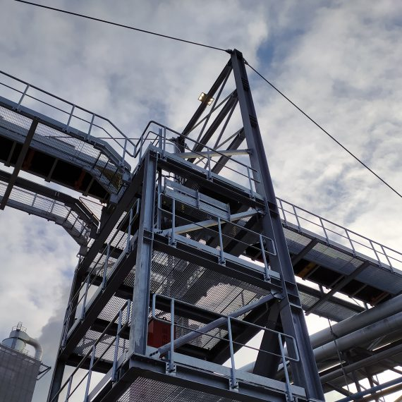 Enlargement of Industrial Plant