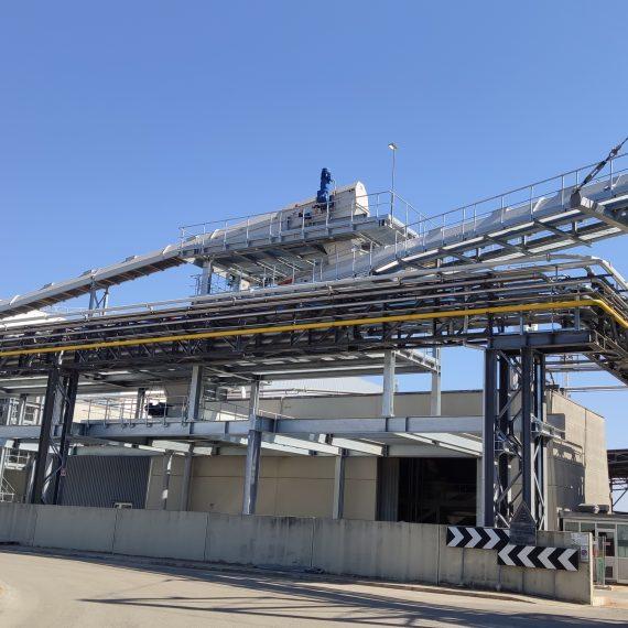 Strutture di ampliamento area industriale